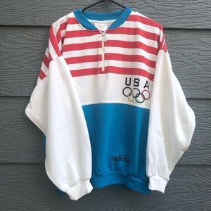 f42ead5e7d632 adidas Sweaters | Vintage 80s New Run Dmc Sweater White Small | Poshmark